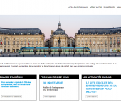 refonte totale du site web du Club des Entrepreneurs de la Gironde