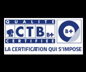 Logo de CTB-B+ une marque FCBA