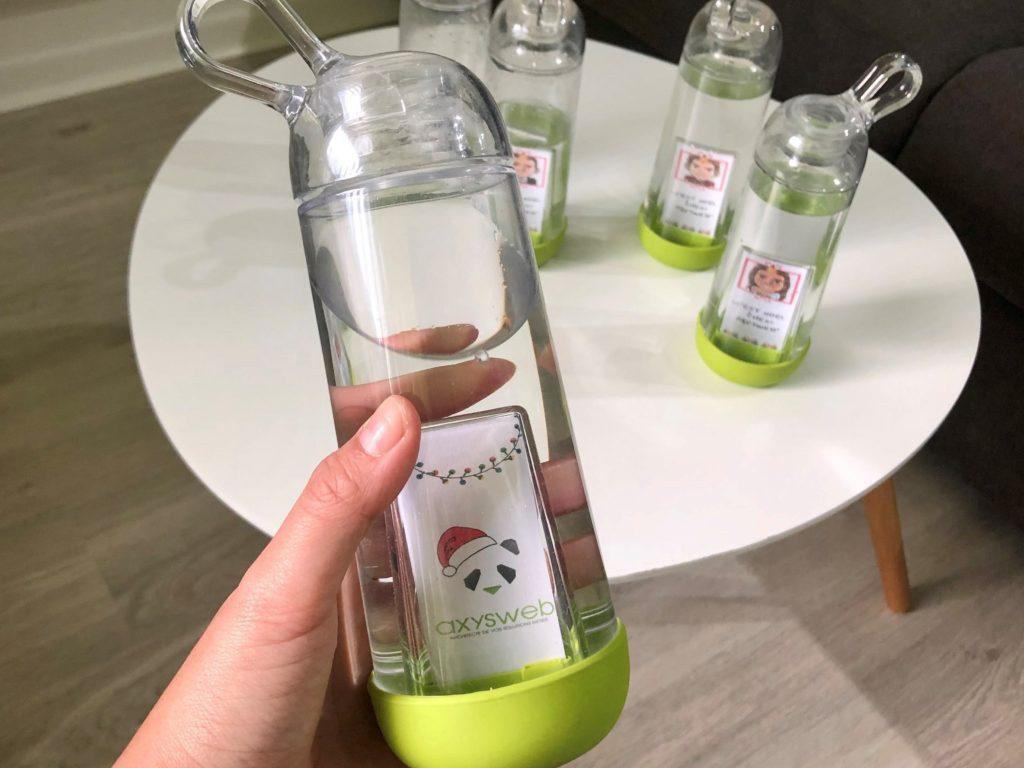 Axysweb adopte le Gobi : bouteille écologique réutilisable