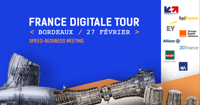 France Digitale Tour a Bordeaux le 27 février