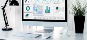 Tableau de bord de gestion des vente développé par axysweb