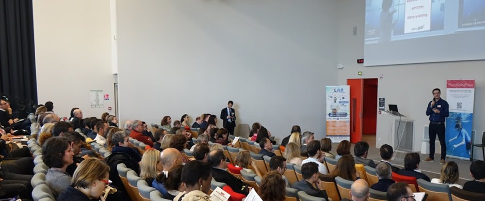 Plénière d'ouverture du social selling forum à Bordeaux