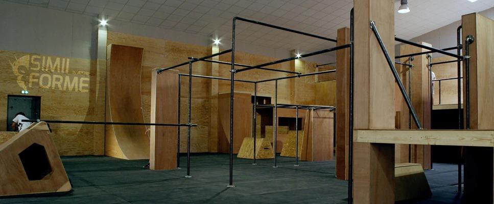 Simiiforme : salle de sport spécialisée dans l'art du déplacement et du parkour à Bordeaux