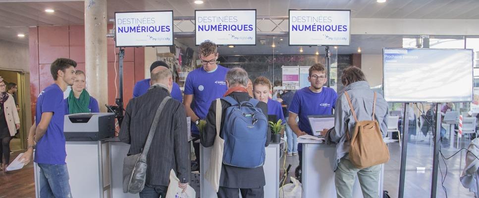 Destinées numériques 2018 à Bordeaux