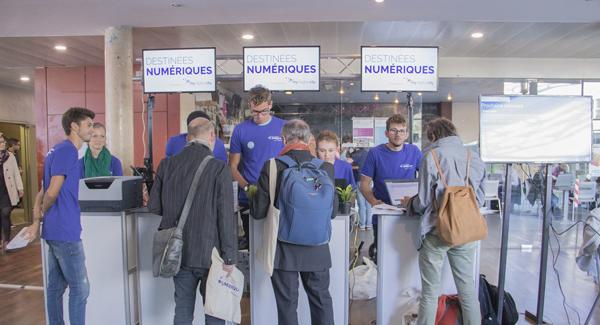 Les Destinées Numériques de Digital Aquitaine à Bordeaux