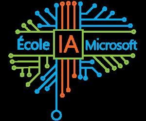 Logo de l'école IA Microsoft