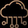Icône : développement des services cloud