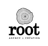 Logo de l'agence Root : création graphique à Bordeaux