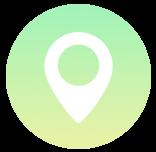 Icône : localisation du poste proposé
